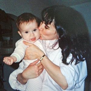 Baby Amanda and Kathy